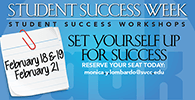 Student Success Week February 18-21